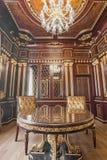 KIEV, UCRÂNIA - 19 DE MAIO DE 2016: Photosession interior da sala de conferências nova do programa demonstrativo Fotos de Stock Royalty Free