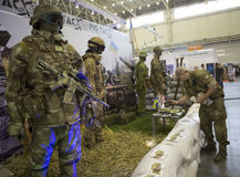 Kiev, Ucrânia 24 de setembro de 2015: Equipamento XII Special internacional Foto de Stock Royalty Free
