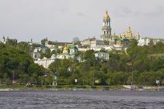 Kiev, Ucrânia, monastério do lavra de Kievo-Pecherskaya Foto de Stock