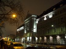 kiev ucrânia Rua 33 de Vladimirskaya Fotos de Stock Royalty Free