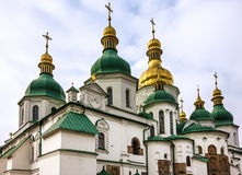 Kiev, Ucrânia Saint Sophia Monastery Cathedral, mundo do UNESCO ele fotografia de stock