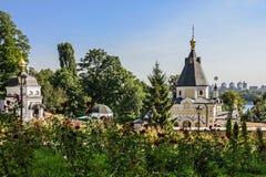 Kiev, Ucraina Chiesa in Pechersk Lavra Monastery Immagine Stock