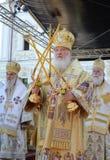 Kiev, Ucraina, il Dormition santo Kiev-Pechersk Fotografia Stock Libera da Diritti