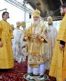 Kiev, Ucraina, il Dormition santo Kiev-Pechersk Fotografia Stock