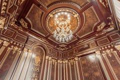 KIEV, UCRAINA - 19 MAGGIO 2016: Photosession interno di nuovo auditorium della dimostrazione Fotografie Stock