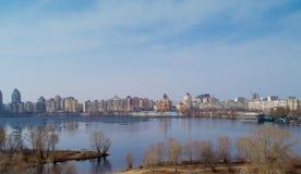 Kiev, Ucrania Aero- tiroteo Imagen de archivo libre de regalías