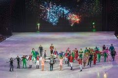 KIEV, UCRANIA: ballet del hielo Fotos de archivo libres de regalías