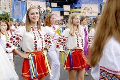 KIEV, UCRANIA - 24 de agosto de 2013 - día de Indipendence Foto de archivo