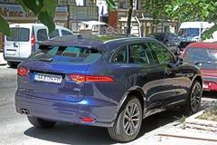 Kiev, Ucrania 10 de junio de 2017 F-paso de Jaguar imagen de archivo libre de regalías