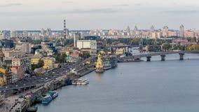Kiev, Ucrania, Dnipro Imagen de archivo