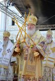 Kiev, Ucrania, el Dormition santo Kiev-Pechersk Foto de archivo libre de regalías