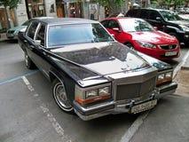 Kiev - Ucrania 12 Junio de 2011 Berlina de Cadillac imágenes de archivo libres de regalías