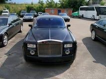 Kiev - Ucrania 12 Junio de 2011 Rolls-Royce Phantom EWB fotografía de archivo libre de regalías