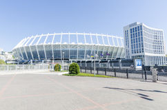 Kiev Ukkaine. Football Stadium Olympic Stock Images