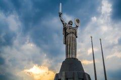 Kiev Ukraina 8 04 2019 Monumentet f arkivbild