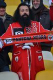 Kiev UKRAINA - OKTOBER 19, 2016: Portugisisk fanservice SL Benfica Arkivfoto