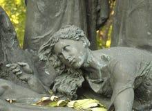 kiev Ukraina Plachuschya kobieta Obrazy Royalty Free