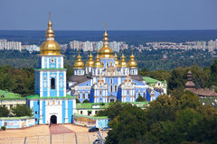 Kiev, Ukraine. St. Michael's Golden-Domed Monastery in Kiev, Ukraine Royalty Free Stock Photography