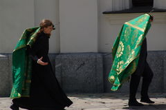 kiev ukraine Royaltyfri Bild