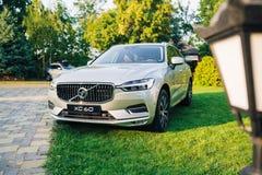 New 2018 Volvo XC60 car. Kiev, Ukraine - 19 August 2017, New Volvo XC60 2018 presented to public in Ukraine Stock Photo