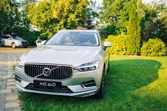 Volvo XC60 2017. Kiev, Ukraine - 19 August 2017, New Volvo XC60 2018 presented to public in Ukraine Royalty Free Stock Photos