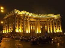 kiev ukraine De mening van de nacht stock afbeeldingen