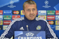 KIEV, UKRAINE - December 8, 2015: Slavisa Jokanovic Royalty Free Stock Image
