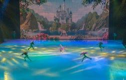 KIEV, UKRAINE: ice ballet Stock Image