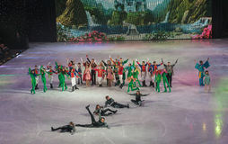 KIEV, UKRAINE: ice ballet Stock Photo