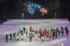 KIEV, UKRAINE: ice ballet Royalty Free Stock Photos