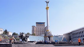 Kiev, Ukraine, Independence monument, Stock Photography