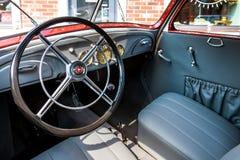 Kiev, Ukraine- July 16, 2016: Kiev, Ukraine- July 16, 2016:Wheel of retro car Stock Photo