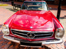 Kiev, Ukraine- July 16, 2016: Mercedes Benz SL230 Pagode W113 , 1968 year. Royalty Free Stock Images