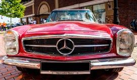 Kiev, Ukraine- July 16, 2016: Mercedes Benz SL230 Pagode W113 , 1968 year. Royalty Free Stock Photo