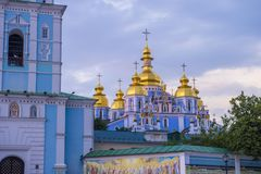 St. Michael`s Golden-Domed Monastery Royalty Free Stock Photography