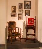 KIEV, UKRAINE : L'exposition du musée de l'histoire de Kiev K Photographie stock libre de droits