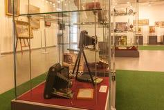 KIEV, UKRAINE : L'exposition du musée de l'histoire de Kiev K Image stock