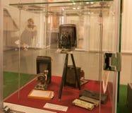 KIEV, UKRAINE : L'exposition du musée de l'histoire de Kiev K Images stock