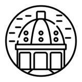 KIEV UKRAINE 09 04 17 : Le saint Michael Golden Domed Monastery est un monast?re de fonctionnement Le monast?re est situ? sur la  illustration de vecteur