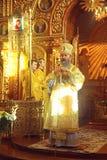 Kiev, Ukraine, March 12.2016. Metropolitan of Kiev Onufry conduc Stock Image