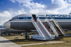 Kiev, Ukraine, March 7, 2019 - National Aviation Museum. Editorial stock photo