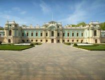 Kiev. Ukraine. The Mariinsky Palace. royalty free stock photography