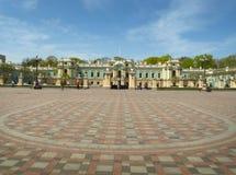 Kiev. Ukraine. The Mariinsky Palace. stock photography