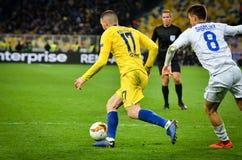 Kiev, UKRAINE - 14 mars 2019 : Mateo Kovacic pendant la correspondance d'UEFA Europa League entre Dynamo Kiev contre Chelsea (Lon photo stock