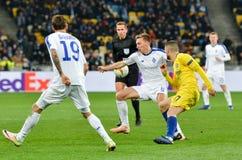 Kiev, UKRAINE - 14 mars 2019 : Mateo Kovacic pendant la correspondance d'UEFA Europa League entre Dynamo Kiev contre Chelsea (Lon photos stock