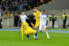 Kiev, UKRAINE - 14 mars 2019 : Mateo Kovacic pendant la correspondance d'UEFA Europa League entre Dynamo Kiev contre Chelsea (Lon images libres de droits