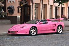 Kiev, Ukraine; May 17, 2016. Ferrari Modena F360 Spider Sbarro GT8. Car. City royalty free stock photography