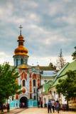 Bell tower at Kiev Pechersk Lavra monastery in Kiev, Ukraine Royalty Free Stock Photo