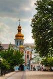 Bell tower at Kiev Pechersk Lavra monastery in Kiev, Ukraine Royalty Free Stock Image