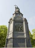 Kiev, Ukraine, monument to prince Vladimir Stock Photos